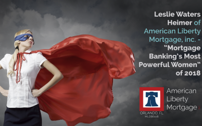 "Leslie Heimer – ""Mortgage Banking's Most Powerful Women"" 2018"